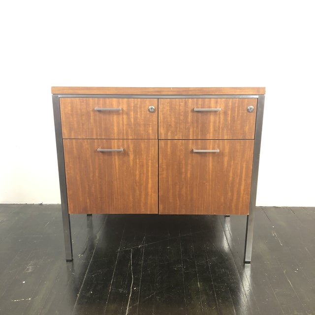 1960s Mid Century Modern Walnut File Drawers by the General Fireproofing Co For Sale - Image 13 of 13