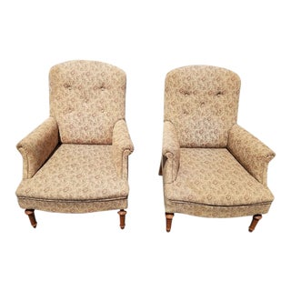 Early 20th Century Biedermeier Attributed Chairs- For Sale