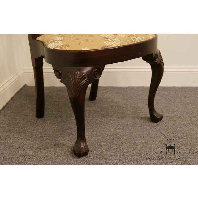 Mahogany Stickley Queen Anne Splatback Mahogany Dining Side Chair For Sale - Image 7 of 13