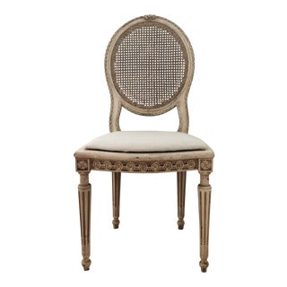 Louis XVI Style Caned Chair