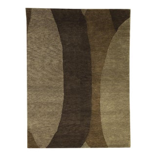 Contemporary Hand Woven Rug - 5'9 X 7'10 For Sale