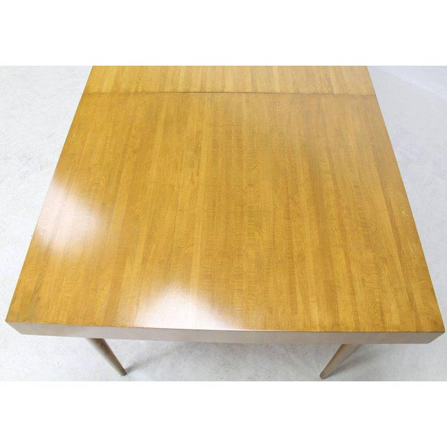 Wood Edmond J. Spence Swedish Blond Birch Dining Table W/ Two Extension Leafs For Sale - Image 7 of 11