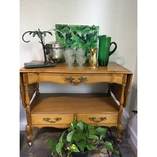 1960s French Provincial Tea or Bar Cart Preview