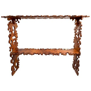 Jig Saw Puzzle Shelf in the Style of Nicola L For Sale