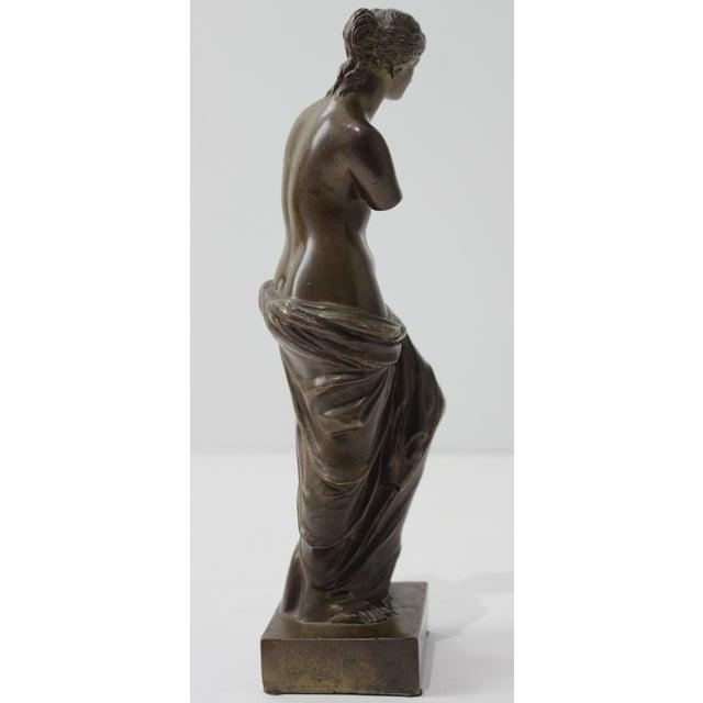 Late 19th Century Antique Grand Tour Venus De Milo Bronze Figure For Sale - Image 5 of 13