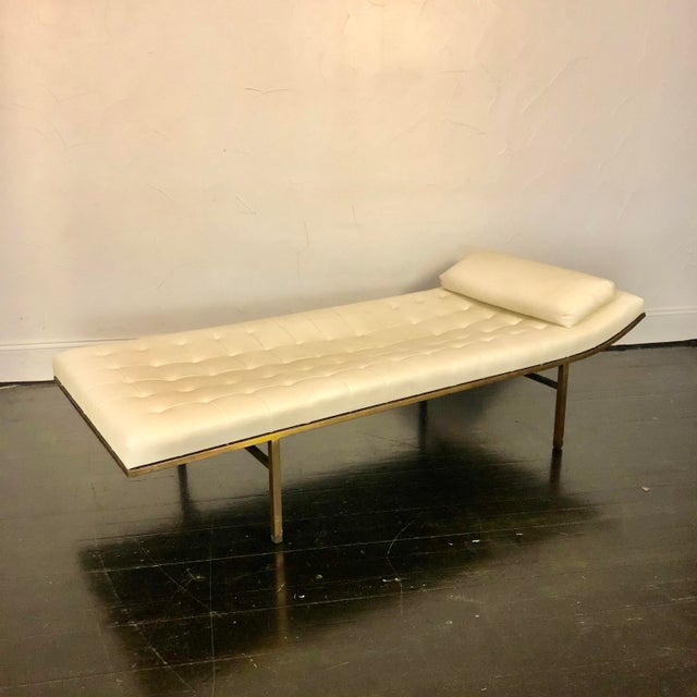 1970s Jules Heumann Chaise Lounge for Metropolitan For Sale - Image 11 of 11
