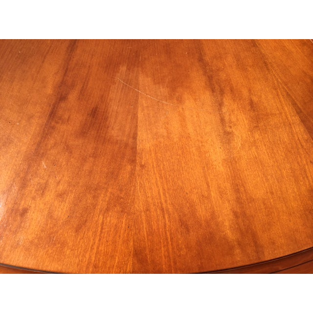 Grange Cherry Pedestal Dining Table For Sale In San Francisco - Image 6 of 6