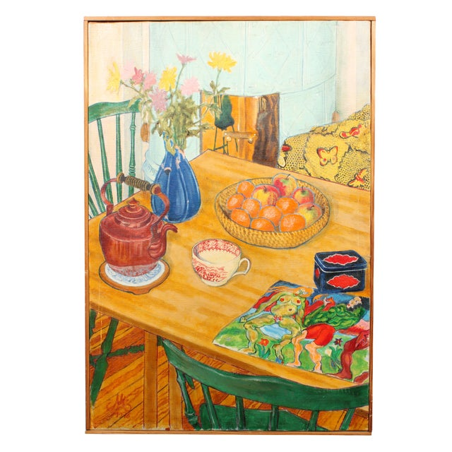 1976 Still Life Oil Painting - Image 1 of 2