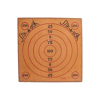 Vintage Stik-A-Disk Gameboard For Sale