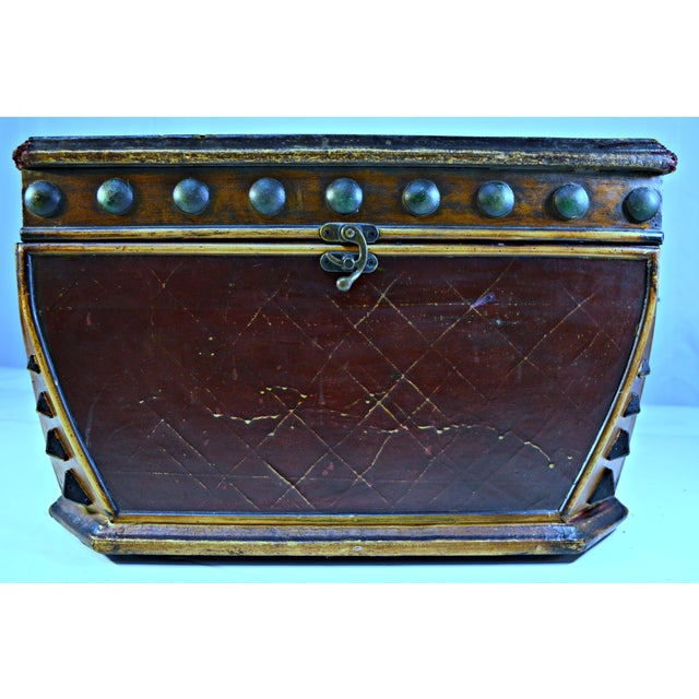 Decorative Wooden Coffer - Image 2 of 10