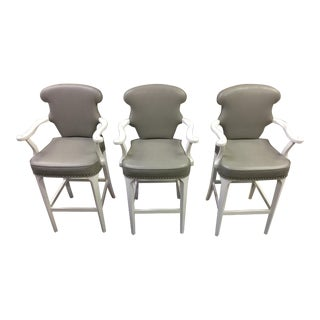 Vintage Century Brumby Barstools- Set of 3 For Sale