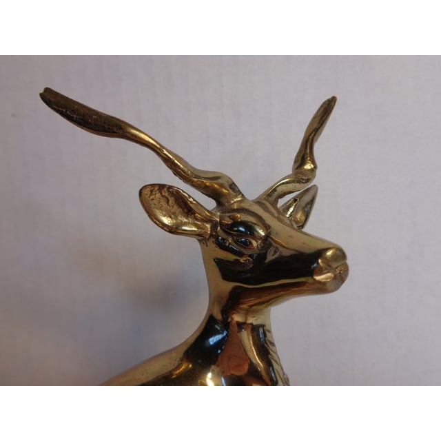 Brass Kudu Figurine - Image 5 of 5