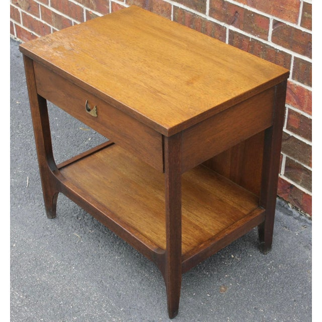 Broyhill Brasilia Nightstand or Side Table For Sale In Dallas - Image 6 of 11
