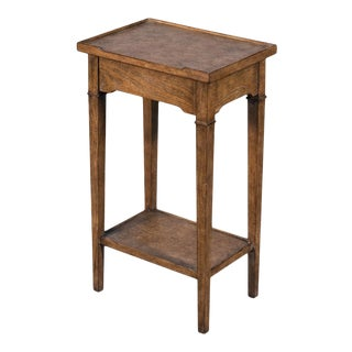 Chelsea End Table, Mink Finish For Sale
