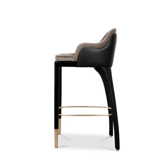 Luxxu Covet Paris Charla Bar Chair For Sale - Image 4 of 9