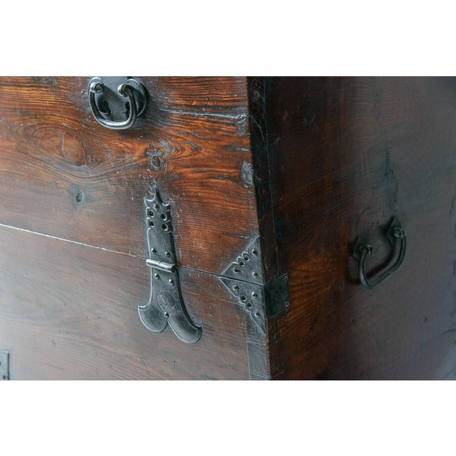 """Early 19th Century Early 19th Century Japanese """"Tansu"""" Chest For Sale - Image 5 of 9"""