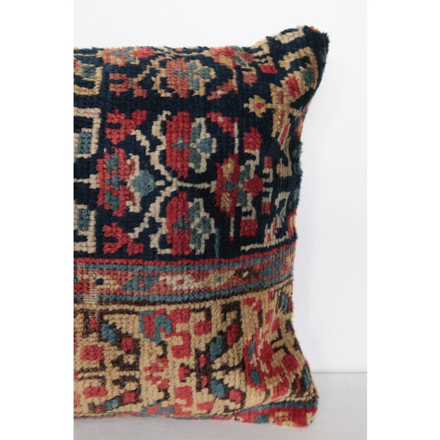 Antique Caucasian Rug Pillow For Sale - Image 4 of 10