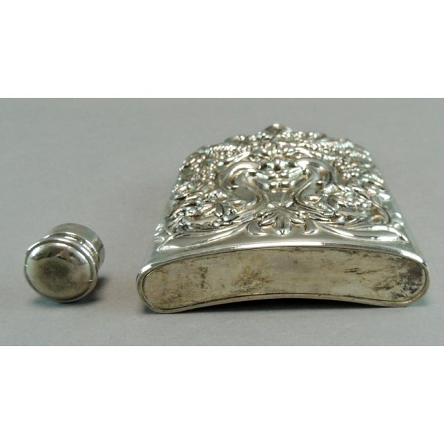Silver Plated Satyr Art Flask - Image 5 of 5