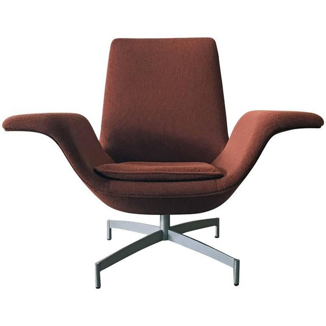 Fabric Contemporary HBF Furniture Dialogue Lounge Chair For Sale - Image 7 of 7