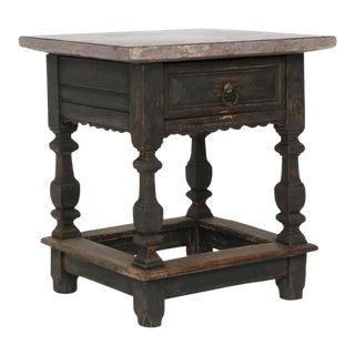 Baroque Stone Top Table For Sale