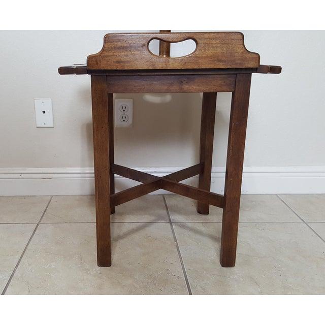 Late 20th Century Vintage Knob Creek Mid Century Table Floor Lamp For Sale - Image 5 of 13
