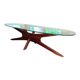 Vintage Mid Century Modern Adrian Pearsall Jax Coffee Table For Sale