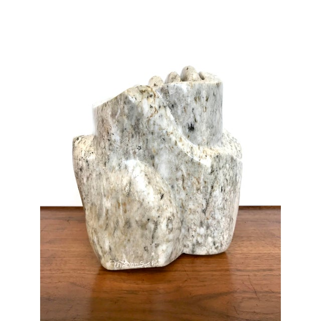 Abstract Abstract Marble Sculpture For Sale - Image 3 of 13