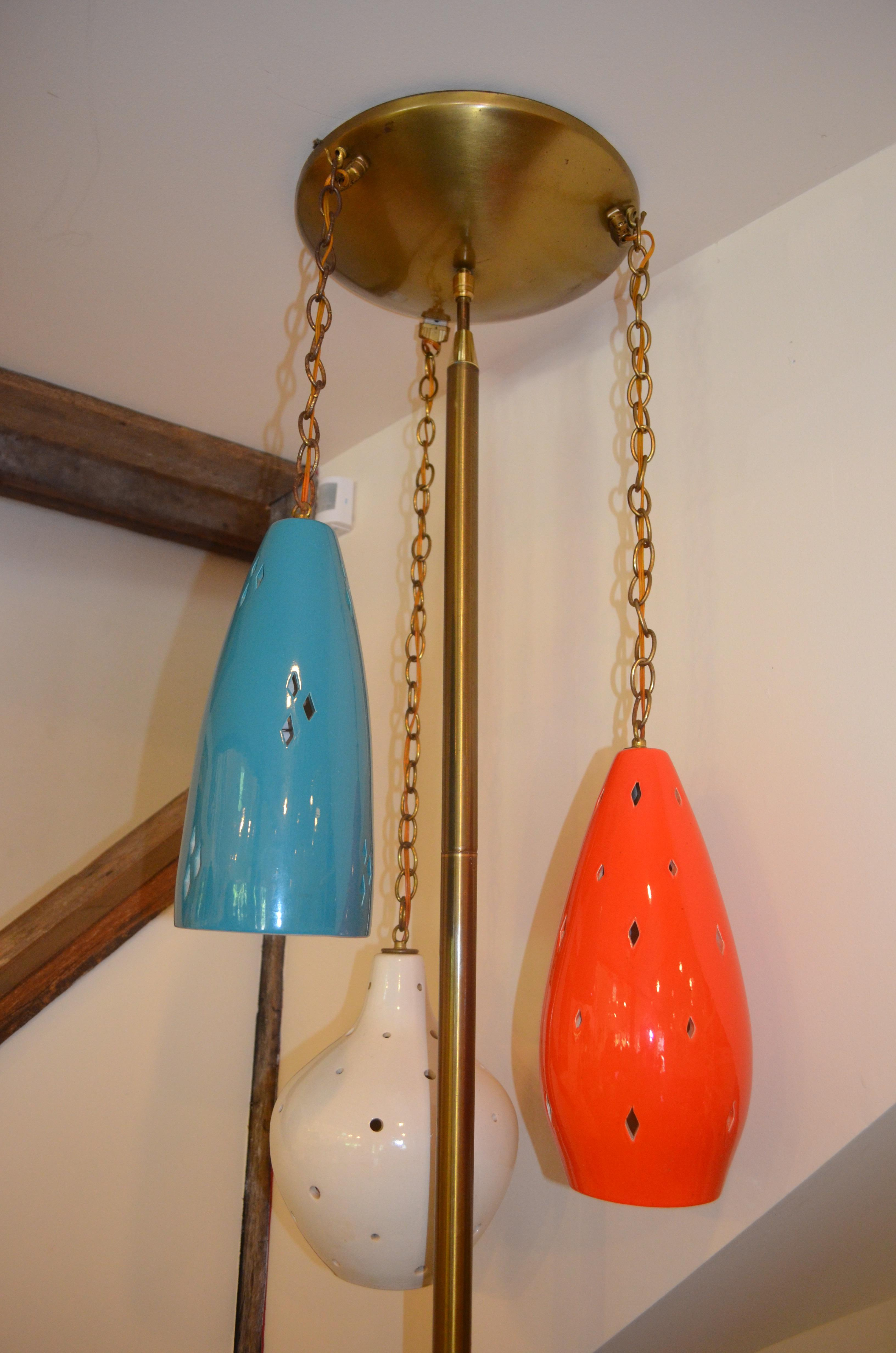 Mid Century Modern Tension Pole Lamp   Image 4 Of 6