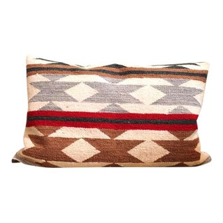 Navajo Bolster Pillow circa 1930 For Sale