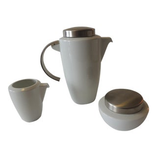 "Coffee Set by Thomas for Rosenthal ""Loft"" Collection For Sale"