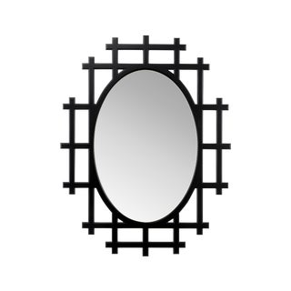 Chelsea House Inc Black Organerie Mirror For Sale