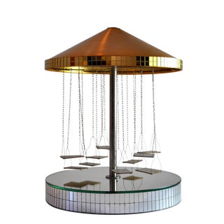 Mirrored Carousel, Neuchatel Switzerland, 1970s For Sale