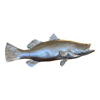 Phillips Collection Barramundi Silver Leaf Fish For Sale