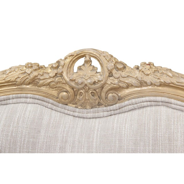 Early 20th Century Kate Spade Upholstered Louis XV Style Settee For Sale - Image 5 of 7