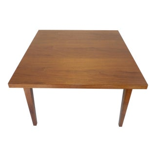 Vintage Mid-Century Stow & Davis Walnut Coffee Table For Sale