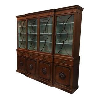 1920s Vintage Breakfront Cabinet