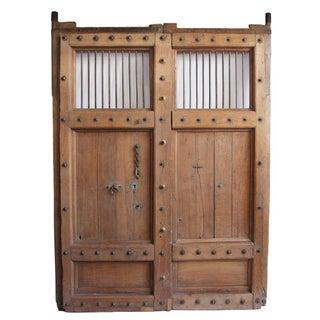 Old Teak Door From India For Sale