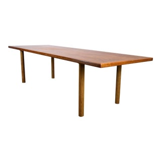 Monumental Hans J. Wegner Teak Coffee Table / Sofa Table / Bench - Andreas Tuck