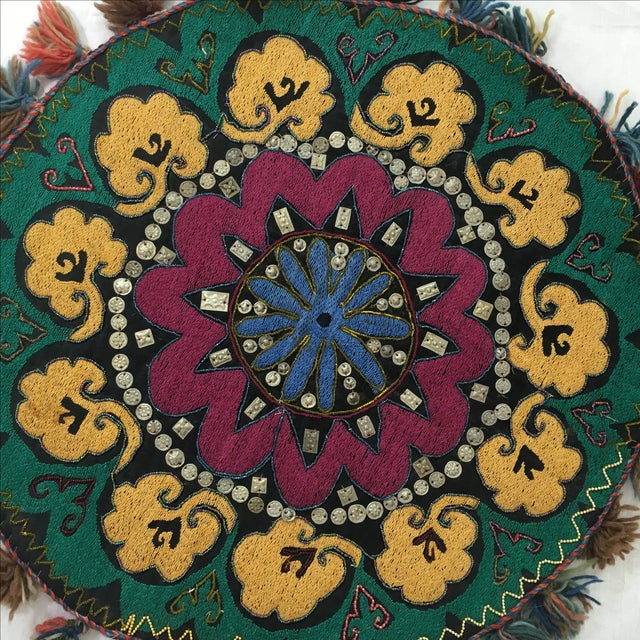 Ethnic Wall Medallion Tapestry - Image 6 of 8