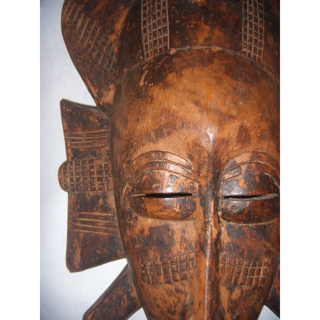 Carved African Tribal Mask For Sale - Image 9 of 11
