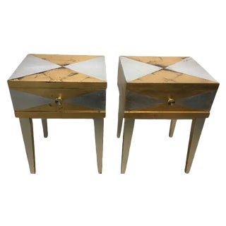 Vintage Mid-Century Modern Tables - a Pair For Sale