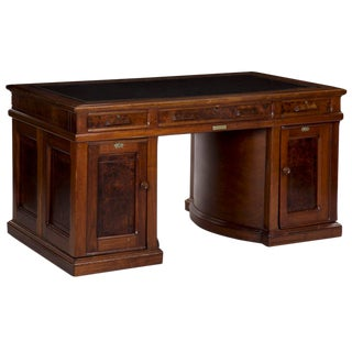 19th Century Wooton's Patent Rotary Partners Writing Desk For Sale