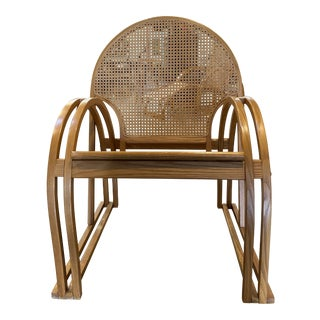 Art Deco Style Lounge Chair by Vermont Tubbs For Sale