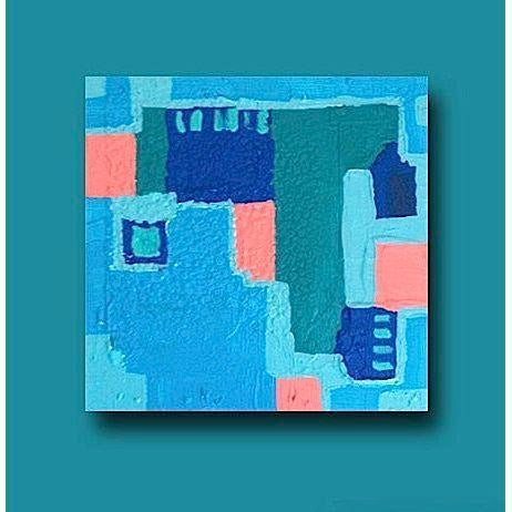 'LiNCOLN ROAD' Original Abstract Painting - Image 5 of 5