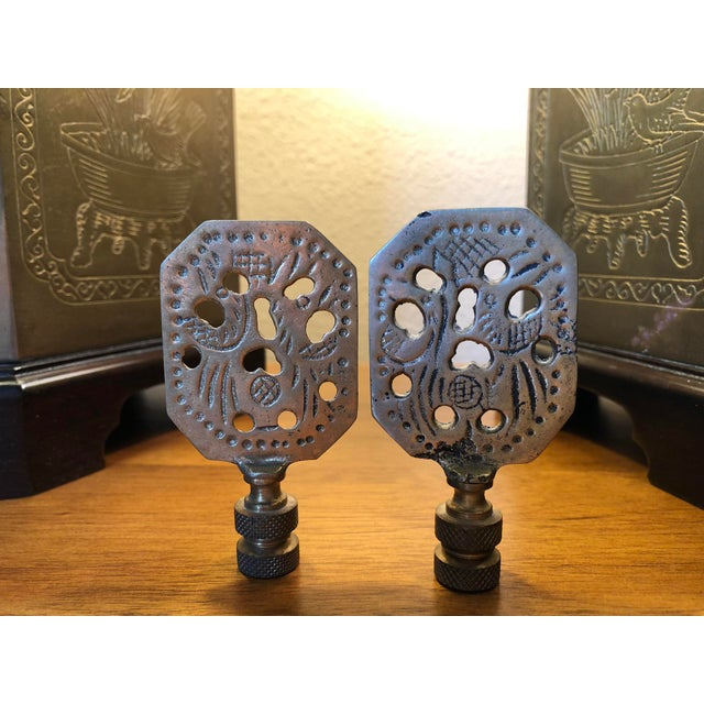 Frederick Cooper Style Table Lamps - a Pair For Sale - Image 10 of 13