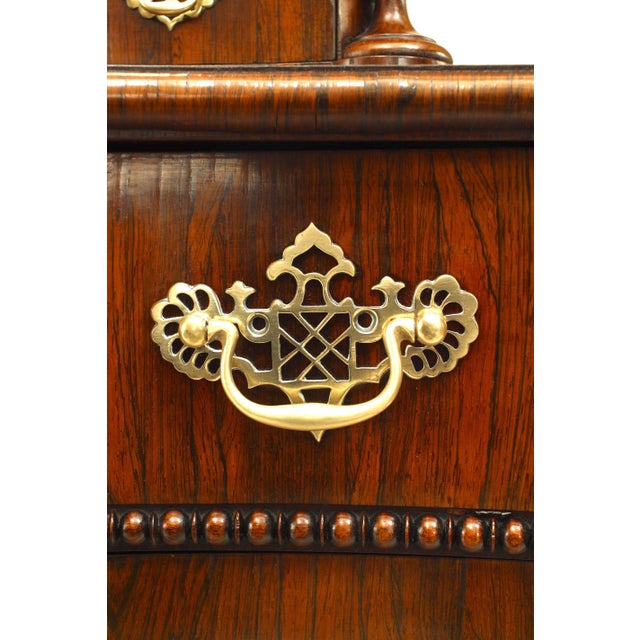 English Regency Style Gothic Design Chest of Drawers For Sale - Image 11 of 13