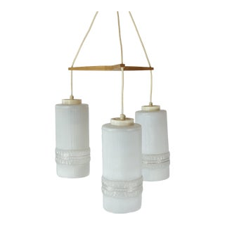 Late 20th Century Three Light Abstract Lighting For Sale