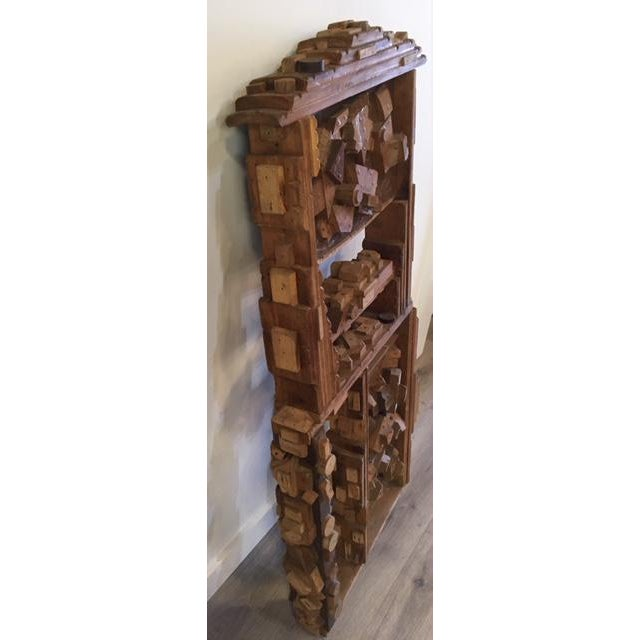 Figurative Wood Sculpture by George J. Marinko For Sale - Image 3 of 7