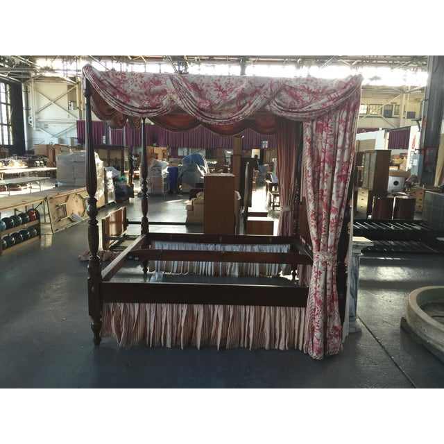 Georgian Leonard's Four Poster Bed King Size For Sale - Image 3 of 12