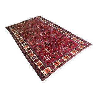 Vintage Persian Rug - 4′10″ × 8′6″